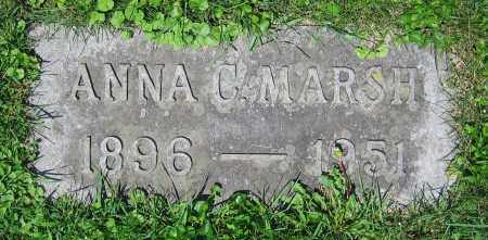 MARSH, ANNA C. - Clark County, Ohio | ANNA C. MARSH - Ohio Gravestone Photos