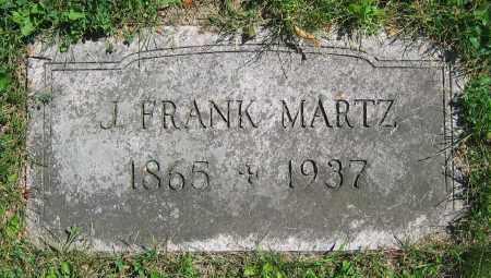 MARTZ, J. FRANK - Clark County, Ohio | J. FRANK MARTZ - Ohio Gravestone Photos