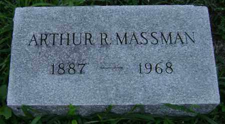 MASSMAN, ARTHUR - Clark County, Ohio   ARTHUR MASSMAN - Ohio Gravestone Photos