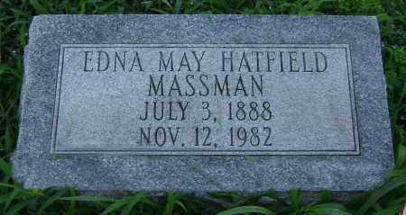MASSMAN, EDNA MAY - Clark County, Ohio | EDNA MAY MASSMAN - Ohio Gravestone Photos
