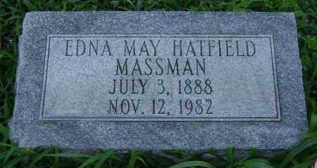 MASSMAN, EDNA MAY - Clark County, Ohio | EDNA MAY MASSMAN - Ohio Gravestone Photos