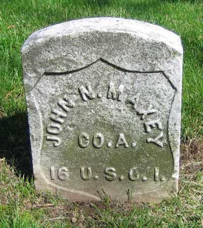MAXEY, JOHN N. - Clark County, Ohio | JOHN N. MAXEY - Ohio Gravestone Photos
