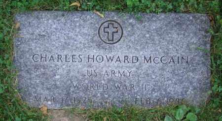 MCCAIN, CHARLES HOWARD - Clark County, Ohio   CHARLES HOWARD MCCAIN - Ohio Gravestone Photos