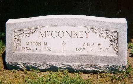 MCCONKEY, ZILLA W. - Clark County, Ohio | ZILLA W. MCCONKEY - Ohio Gravestone Photos