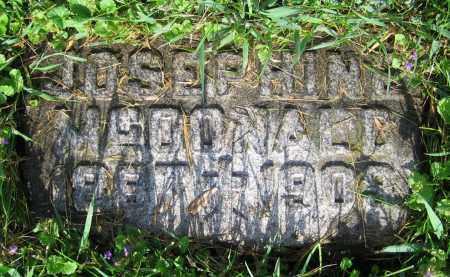 MCDONALD, JOSEPHINE - Clark County, Ohio   JOSEPHINE MCDONALD - Ohio Gravestone Photos