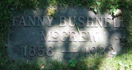 MCGREW, FANNY - Clark County, Ohio | FANNY MCGREW - Ohio Gravestone Photos