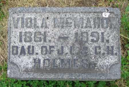 HOLMES MCMAHON, VIOLA - Clark County, Ohio | VIOLA HOLMES MCMAHON - Ohio Gravestone Photos