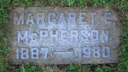 MCPHERSON, MARGARET E. - Clark County, Ohio | MARGARET E. MCPHERSON - Ohio Gravestone Photos