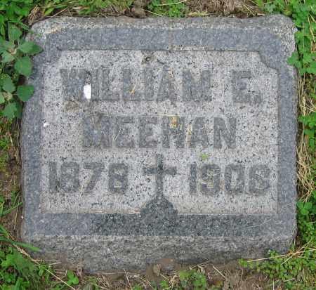 MEEHAN, WILLIAM E. - Clark County, Ohio | WILLIAM E. MEEHAN - Ohio Gravestone Photos