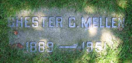 MELLEN, CHESTER C. - Clark County, Ohio | CHESTER C. MELLEN - Ohio Gravestone Photos