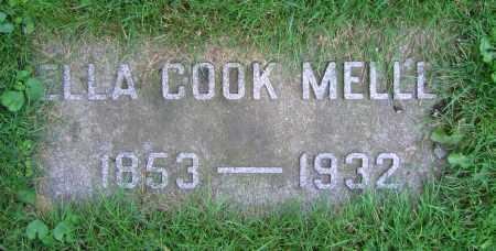 MELLEN, ELLA - Clark County, Ohio | ELLA MELLEN - Ohio Gravestone Photos