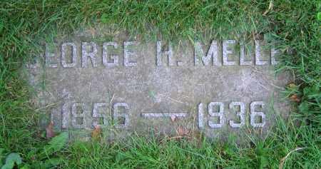 MELLEN, GEORGE H. - Clark County, Ohio | GEORGE H. MELLEN - Ohio Gravestone Photos