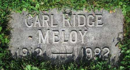 MELOY, CARL RIDGE - Clark County, Ohio   CARL RIDGE MELOY - Ohio Gravestone Photos