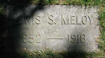 MELOY, LEWIS S. - Clark County, Ohio   LEWIS S. MELOY - Ohio Gravestone Photos