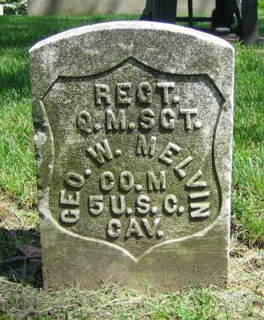 MELVIN, GEO. W. - Clark County, Ohio   GEO. W. MELVIN - Ohio Gravestone Photos