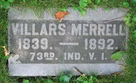 MERRELL, VILLARS - Clark County, Ohio | VILLARS MERRELL - Ohio Gravestone Photos