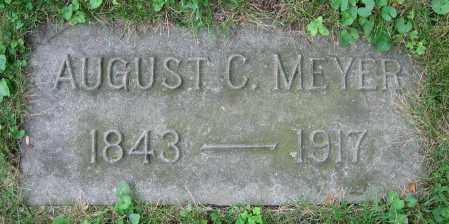 MEYER, AUGUST C. - Clark County, Ohio   AUGUST C. MEYER - Ohio Gravestone Photos