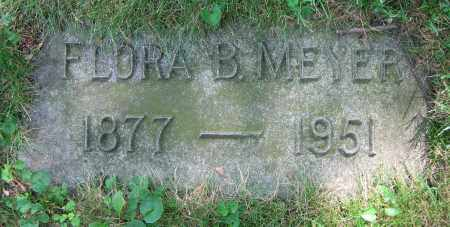 MEYER, FLORA B. - Clark County, Ohio   FLORA B. MEYER - Ohio Gravestone Photos