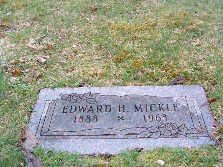 MICKLE, EDWARD HARRISON - Clark County, Ohio | EDWARD HARRISON MICKLE - Ohio Gravestone Photos