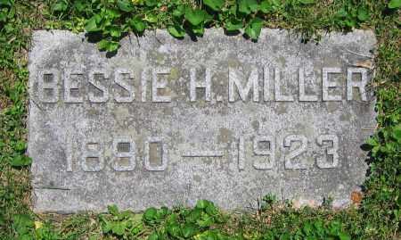 MILLER, BESSIE H. - Clark County, Ohio | BESSIE H. MILLER - Ohio Gravestone Photos