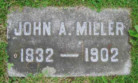 MILLER, JOHN A. - Clark County, Ohio   JOHN A. MILLER - Ohio Gravestone Photos