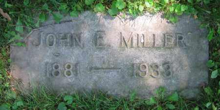 MILLER, JOHN E. - Clark County, Ohio | JOHN E. MILLER - Ohio Gravestone Photos