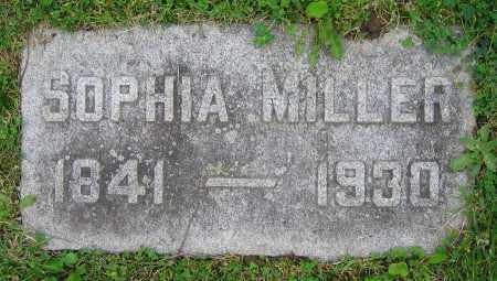 MILLER, SOPHIA - Clark County, Ohio | SOPHIA MILLER - Ohio Gravestone Photos