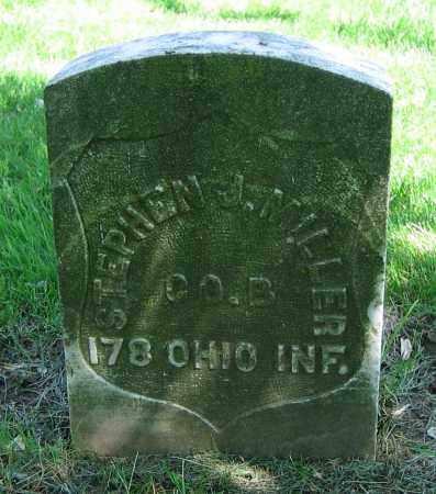 MILLER, STEPHEN J. - Clark County, Ohio | STEPHEN J. MILLER - Ohio Gravestone Photos