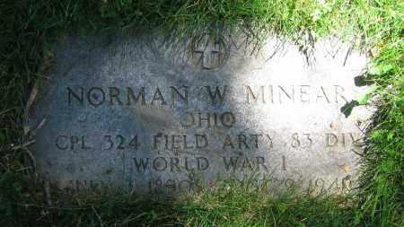 MINEAR, NORMAN W. - Clark County, Ohio | NORMAN W. MINEAR - Ohio Gravestone Photos