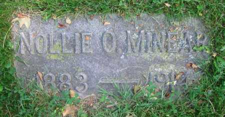 MINEAR, NOLLIE O. - Clark County, Ohio | NOLLIE O. MINEAR - Ohio Gravestone Photos