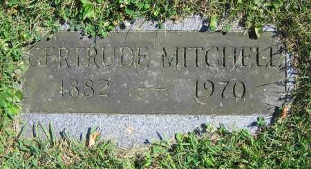 MITCHELL, GERTRUDE - Clark County, Ohio   GERTRUDE MITCHELL - Ohio Gravestone Photos