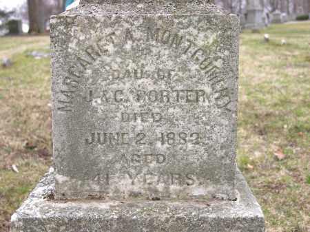 PORTER MONTGOMERY, MARGARET - Clark County, Ohio | MARGARET PORTER MONTGOMERY - Ohio Gravestone Photos