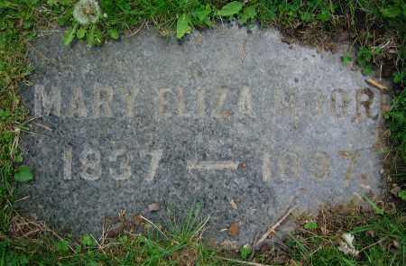 MOORE, MARY ELIZA - Clark County, Ohio | MARY ELIZA MOORE - Ohio Gravestone Photos