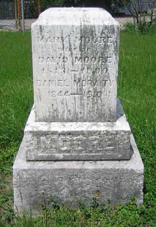 MOORE, MARY - Clark County, Ohio | MARY MOORE - Ohio Gravestone Photos