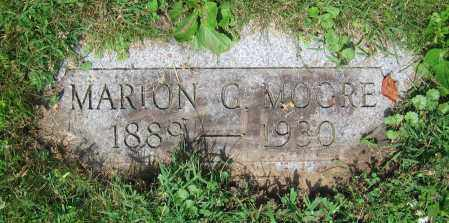 MOORE, MARION C. - Clark County, Ohio | MARION C. MOORE - Ohio Gravestone Photos