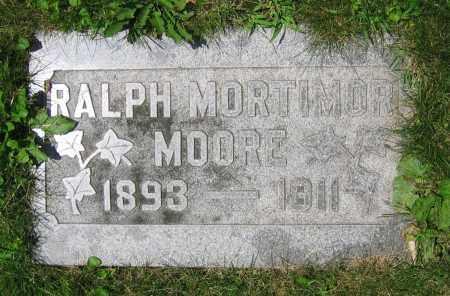 MOORE, RALPH MORTIMOR - Clark County, Ohio | RALPH MORTIMOR MOORE - Ohio Gravestone Photos