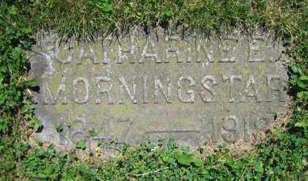 MORNINGSTAR, CATHARINE E. - Clark County, Ohio   CATHARINE E. MORNINGSTAR - Ohio Gravestone Photos
