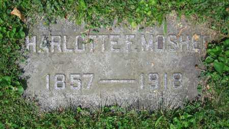 MOSHER, CHARLOTTE F. - Clark County, Ohio | CHARLOTTE F. MOSHER - Ohio Gravestone Photos