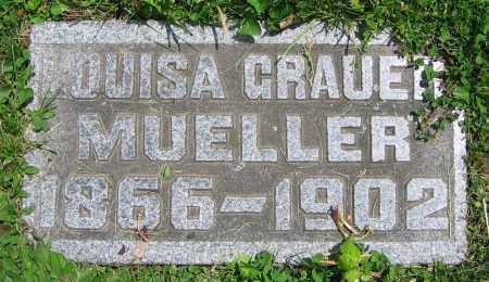 MUELLER, LOUISA - Clark County, Ohio | LOUISA MUELLER - Ohio Gravestone Photos