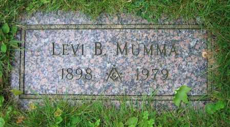 MUMMA, LEVI B. - Clark County, Ohio   LEVI B. MUMMA - Ohio Gravestone Photos
