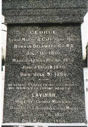 MURRAY, GEORGE W. - Clark County, Ohio | GEORGE W. MURRAY - Ohio Gravestone Photos