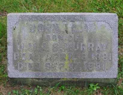 MURRAY, JOHN L - Clark County, Ohio   JOHN L MURRAY - Ohio Gravestone Photos