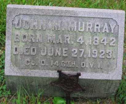 MURRAY, JOHN M - Clark County, Ohio | JOHN M MURRAY - Ohio Gravestone Photos