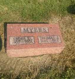 MYERS, THOMAS J. - Clark County, Ohio | THOMAS J. MYERS - Ohio Gravestone Photos