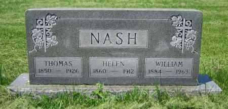 NASH, HELEN - Clark County, Ohio | HELEN NASH - Ohio Gravestone Photos