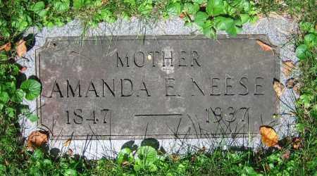 NEESE, AMANDA E. - Clark County, Ohio | AMANDA E. NEESE - Ohio Gravestone Photos