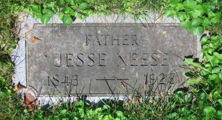 NEESE, JESSE - Clark County, Ohio   JESSE NEESE - Ohio Gravestone Photos