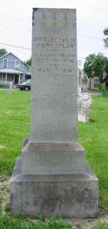 RILEY NOLAN, ANN - Clark County, Ohio   ANN RILEY NOLAN - Ohio Gravestone Photos