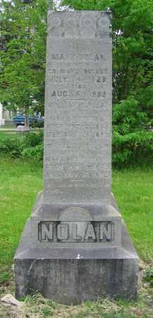 NOLAN, WILLIAM J. - Clark County, Ohio | WILLIAM J. NOLAN - Ohio Gravestone Photos