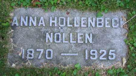 NOLLEN, ANNA - Clark County, Ohio | ANNA NOLLEN - Ohio Gravestone Photos